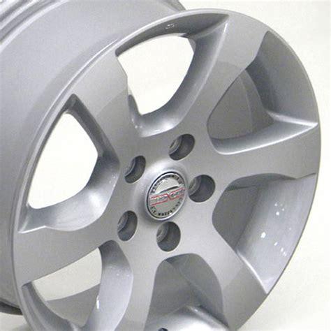 bolt pattern nissan leaf 16 quot nissan altima silver wheels set of 4 oem 62479 rims