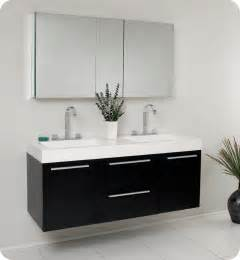 Modern Bathroom Medicine Cabinets Fresca Opulento Black Modern Sink Bathroom Vanity W Medicine Cabinet Direct To You
