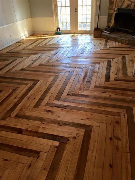 Diy Floor by Diy Pallet Flooring