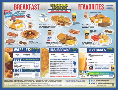 American Efficiency For Breakfast The Exle Of Waffle House The Imaginative