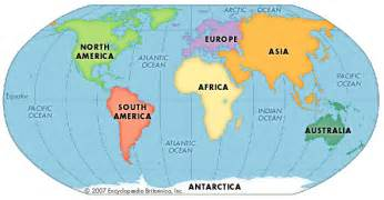 africa and south america map continent encyclopedia children s homework help