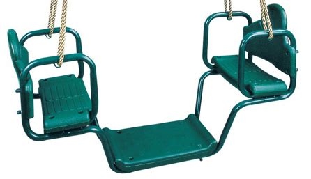 face to face glider swing face to face glider with rope swingsetmall com