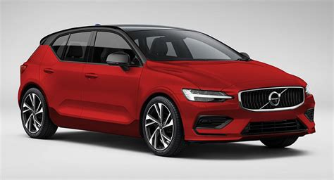 Volvo Hatchback 2020 by Upcoming Volvo V40 Puts On A Familiar In New