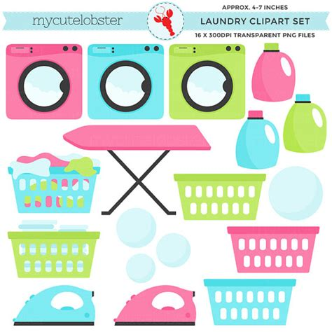 laundry clip laundry clipart set clip set of laundry washing