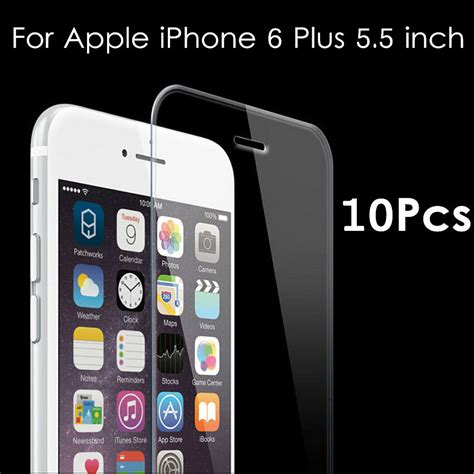 Tempered Glass Iphone 6 Plus 5 Inchi 6 5 5 Motif Warna tempered glass screen protector for apple iphone 6 plus 5 5 inch protection cover protective
