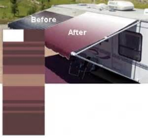 replacement rv awning fabric bordeaux 15 foot