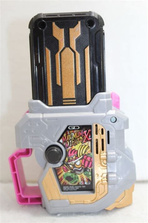 Ex Aid Maximum Mighty X kamen rider ex aid dx maximum mighty x gashat used