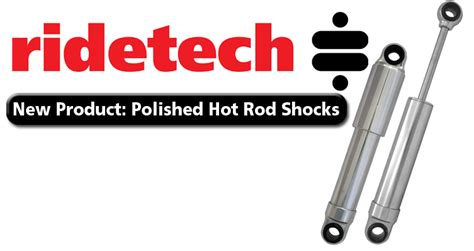 Car Needs Shocks Bangshift Ridetech Polished Rod Shocks