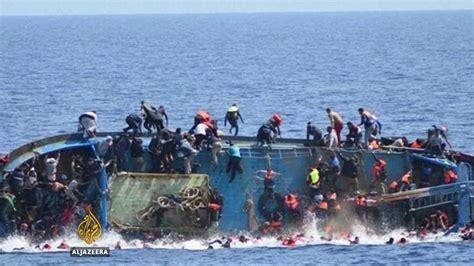 refugee boat libya african migrants sold in libya slave markets iom says