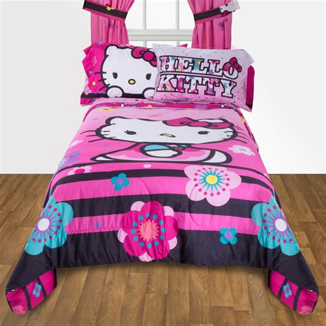 kitty comforter twin bed hello kitty twin bedding mag2vow bedding ideas