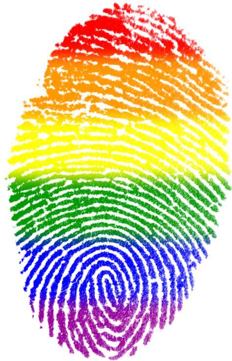 free illustration fingerprint flag symbol free