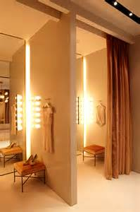 dressing room of fashion retail store interior design