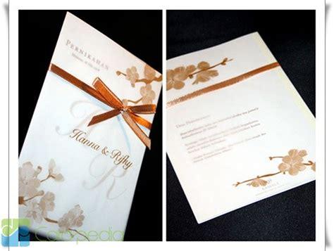 desain kartu undangan pernikahan modern contoh desain kartu undangan pernikahan madina madani satu