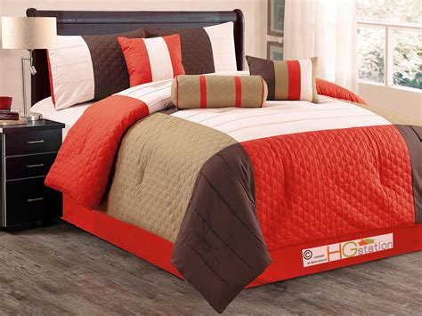 quatrefoil comforter set 7 pc patchwork quatrefoil trellis pleated comforter set