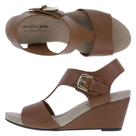 comfort plus by predictions wedge comfort plus by predictions vanna women s mid wedge sandal