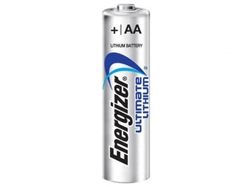 Energizer L by Energizer Ultimate Lithium L91 Aa Battery 1pc