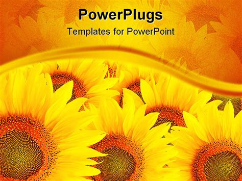 Free Sunflower Template Download Free Clip Art Free Clip Art On Clipart Library Sunflower Powerpoint Template