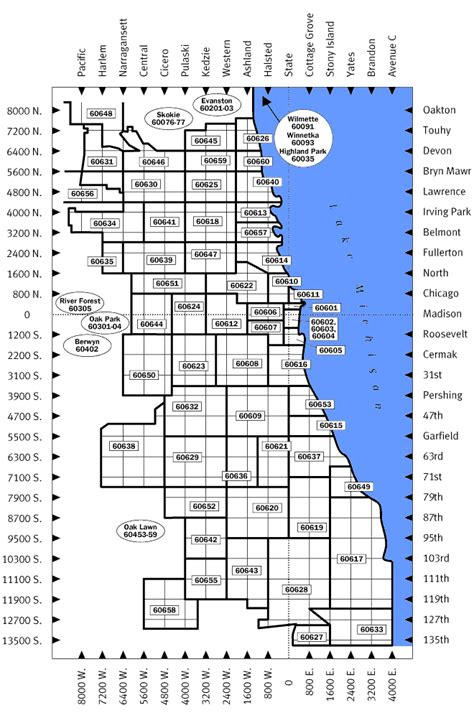 chicago map with zip codes special events management chicago zip code map