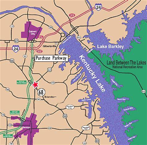 kentucky map lakes real estate on kentucky lake from professional associates