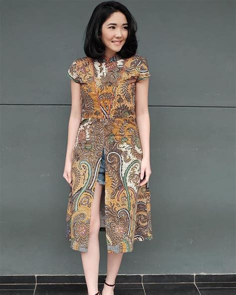 Dress D837 By Xaverana Boutique 1000 ideas about batik dress on batik fashion