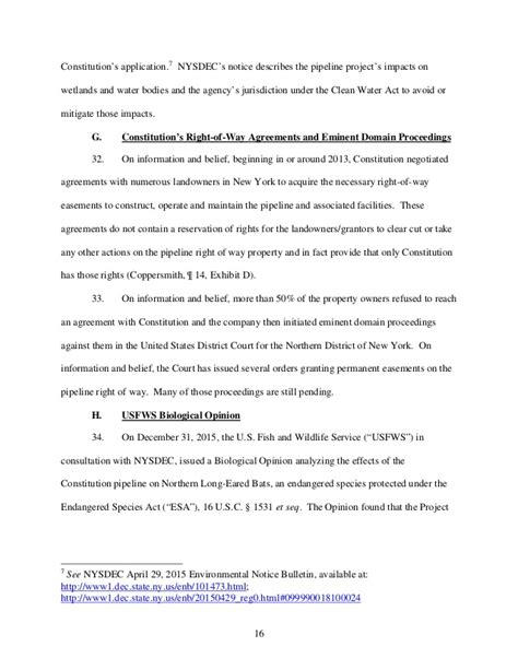 Nysdec Application Form Ny Ag Schneiderman S Petition Of Ferc To Investigate The