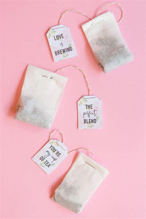 bridal shower favors manila 2 diy tea bag favors aisle society