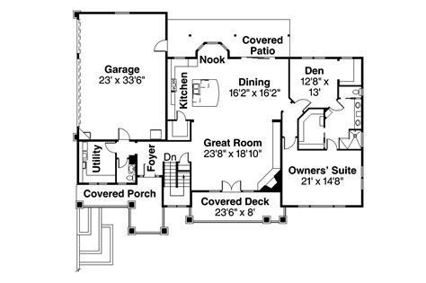prairie style home floor plans prairie style house plans northshire 30 808 associated