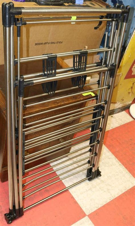 Fold Out Drying Rack by Fold Out Clothes Drying Rack Kastner Auctions
