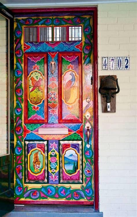 painted doors 1000 images about bohemian style decor on pinterest