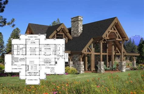 timber frame home floor plans timber frame homes precisioncraft timber homes post