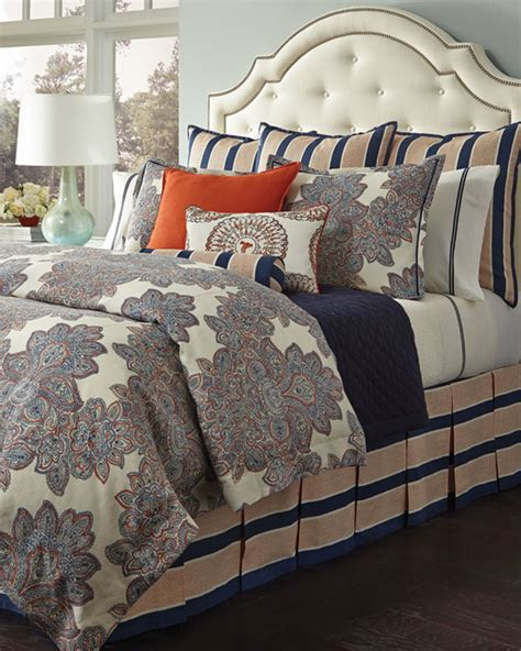 86 X 86 Duvet Cover harleigh duvet cover 86 quot x 86 quot blue brown contemporary duvet covers sets