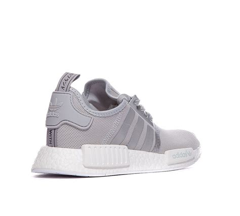 adidas nmd r1 light grey adidas originals nmd r1 grey in silver