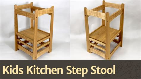 Childrens Kitchen Step Stool by 236 Kitchen Step Stool