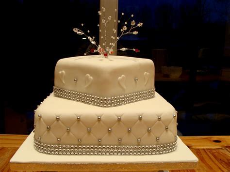 Diamond wedding anniversary cake ideas   idea in 2017