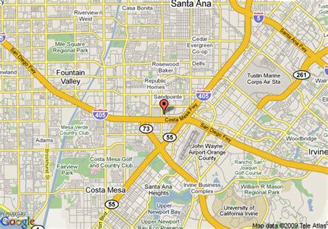 south coast plaza map map of the westin south coast plaza costa mesa