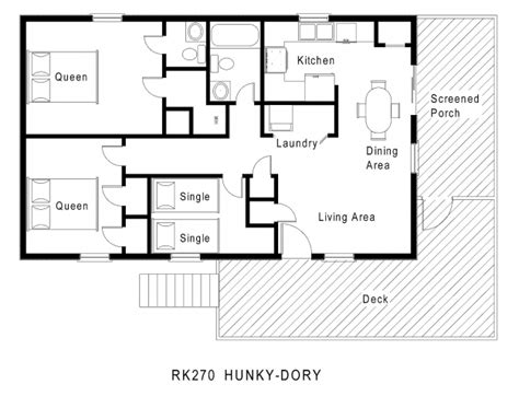 single floor plan wonderful 59 simple small house floor plans one level 1200