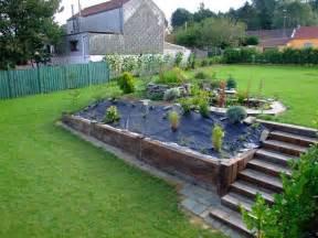 jardin d eau construction d un escalier