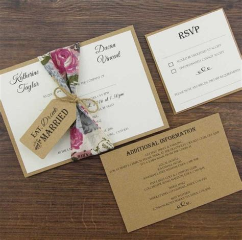 buy printable wedding invitation kits custom wedding invitation kits diy projects craft ideas