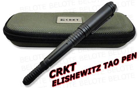 crkt tactical pen crkt elishewitz tao tactical pen black tpenak new ebay