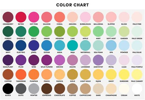 braces color chart 78 best images about name that color on