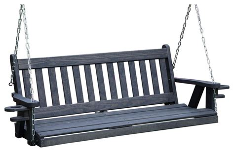 swing mission made in usa amish heavy duty 800 lb mission 5ft porch