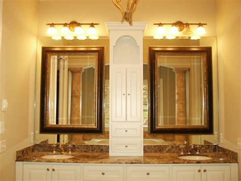 bathroom mirrors seattle wood framed bathroom mirrors bathroom vanities seattle wa