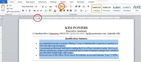 microsoft word resume formatting tips resume formatting tips using microsoft word