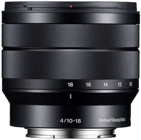 Sony E 10 18mm F4 Oss Resmi Pt Sony Indonesia sony e 10 18mm f4 oss lens