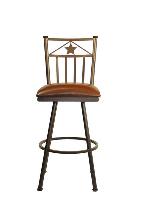 Lone Bar Stools by Callee Lonestar Swivel Stool Western Style Barstool