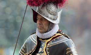 Mutif 85 No2 4 Dan 6 pope promotes swiss guard s no 2 to top post daily mail