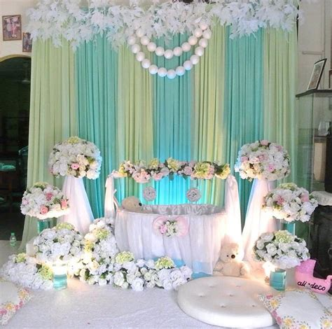 Christening Stage Decoration by 17 Best Images About Cradle Ceremony Balloon Decorations
