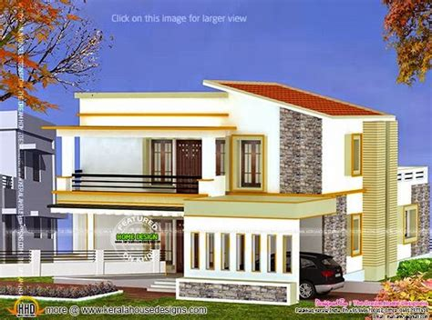 house design of thumb 3d view and floor plan kerala home design and floor plans