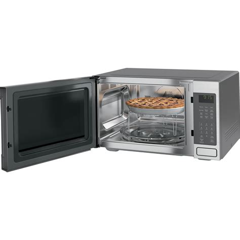 Microwave Oven G 8 Peb9159sjss Ge Profile 1 5 Cu Ft Microwave 1000 Watts Convection Built In Or Countertop