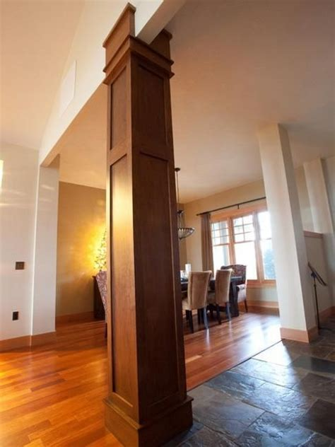 interior column wrap ideas 25 best ideas about interior columns on